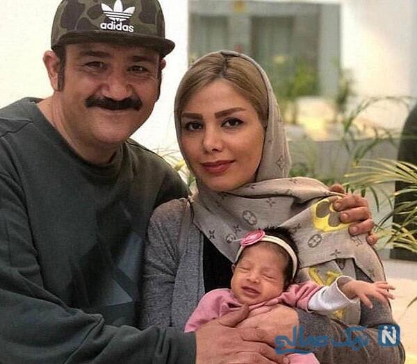 همسر و دختر مهران غفوریان