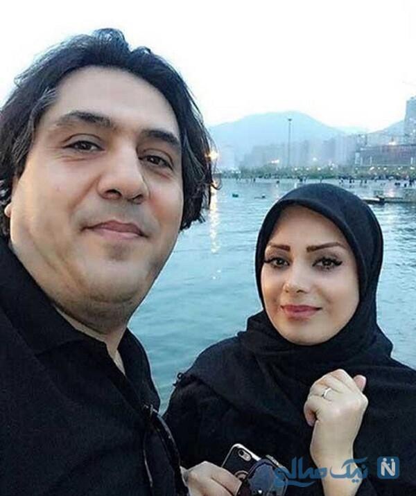 مهاجرت صبا راد و همسرش