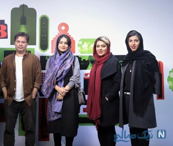 پیمان قاسم خانی و خانم کارگردان