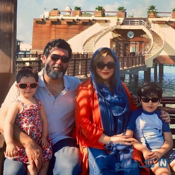 همسر و فرزندان کارگردان معروف