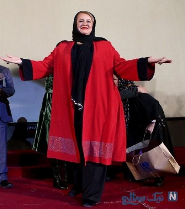 تیپ جدید نعیمه نظام دوست و خانم بازیگر قبل از لاغری