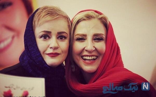 مرجانه گلچین در مراسم عروسی خواهر نعیمه نظام دوست