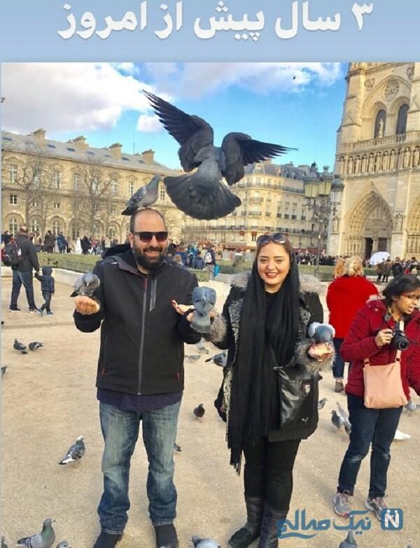 گردش علی اوجی و همسرش