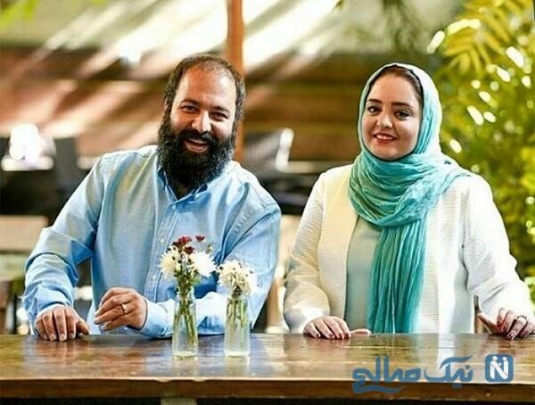 گردش نرگس محمدی و علی اوجی