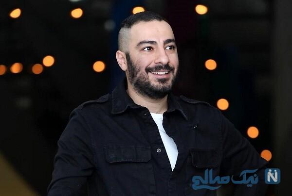 پدر و مادر نوید محمدزاده بازیگر