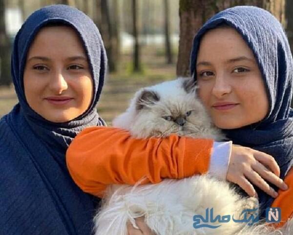 عکس جدید نیکا فرقانی و خواهرش