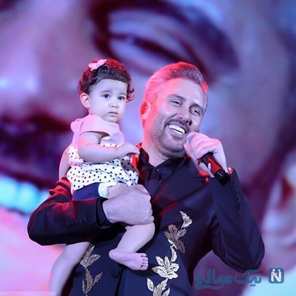 خواننده ایرانی و دخترش