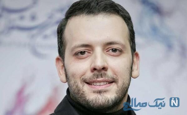 تیپ جدید و ساده پدرام شریفی بازیگر سریال هم گناه
