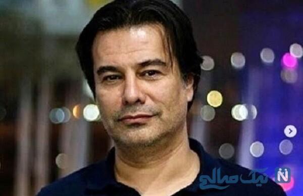 پیمان قاسم خانی و همسر جدیدش میترا ابراهیمی کارگردان