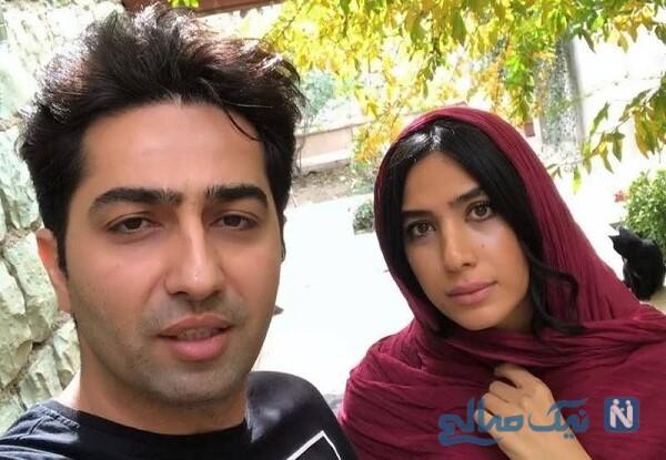 جدیدترین عکس علی سخنگو و همسرش