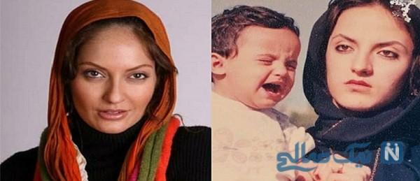 شباهت مهناز افشار و خواهرش