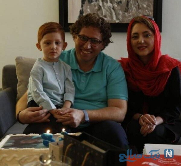 عکس مهسا کرامتی با پسرش و همسرش