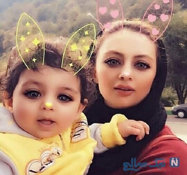 عکس زیبای یکتا ناصر و سوفیا