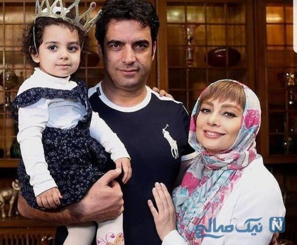 عکس از یکتا ناصر و دخترش و همسرش
