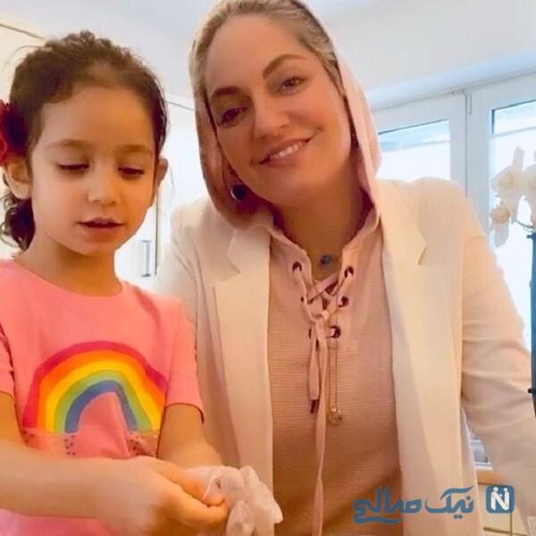 جالب ترین عکس های مهناز افشار و دخترش