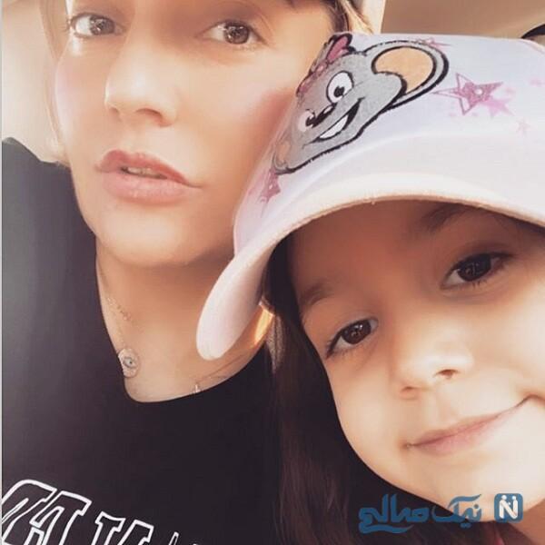 عکس های مهناز افشار و دخترش لیانا