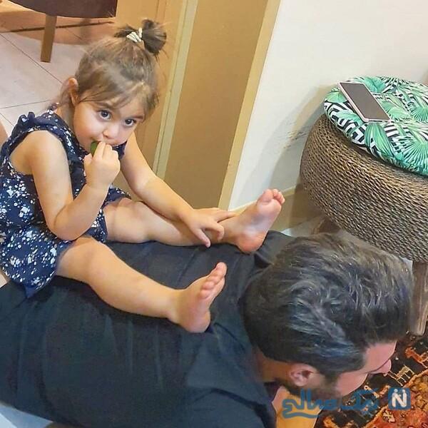 بازی آقای بازیگر و دخترش