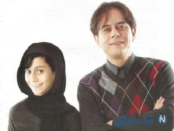 رحیم نوروزی همسرش و دخترش