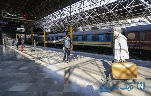 اتفاق زیبا در ایستگاه راه آهن تهران و غافلگیر شدن مردم