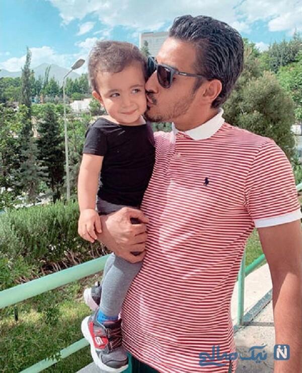 رضا قوچان نژاد پسرش دوران
