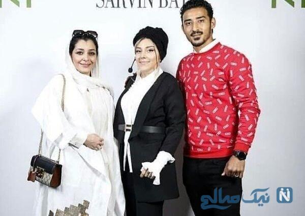 همسر و خواهر زن رضا قوچان نژاد