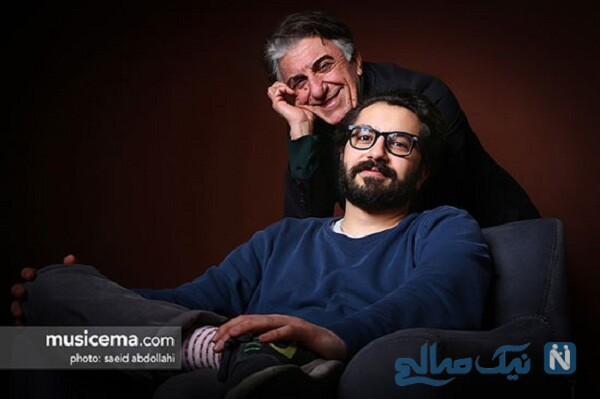 رضا کیانیان و پسرش