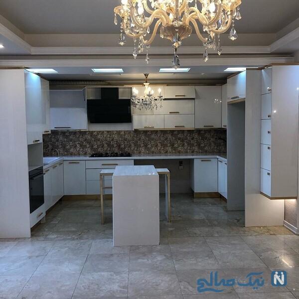 خانه خانم مجری در تهران