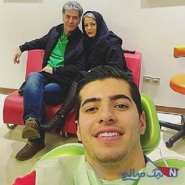 سعید عزت اللهی و مادرش و پدرش