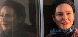 استایل شیک سحر دولتشاهی در کنار پدر و مادرش