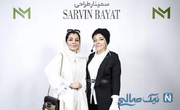 تبریک خانم بازیگر برای سالگرد ازدواج خواهرش