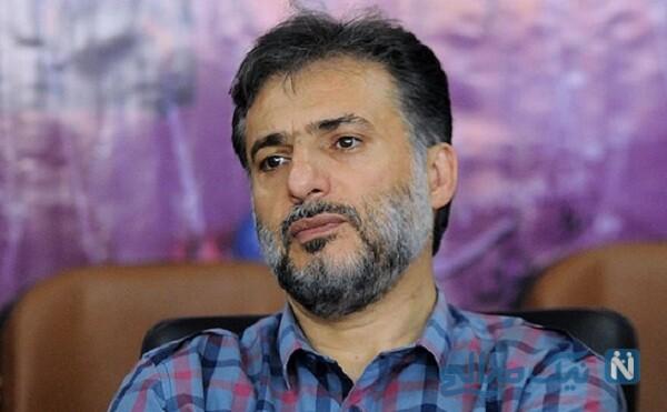 سیدجواد هاشمی بازیگر در کنار همسر , دختر و پسرش