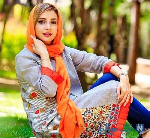 تصویری از شبنم قلی خانی با چادر
