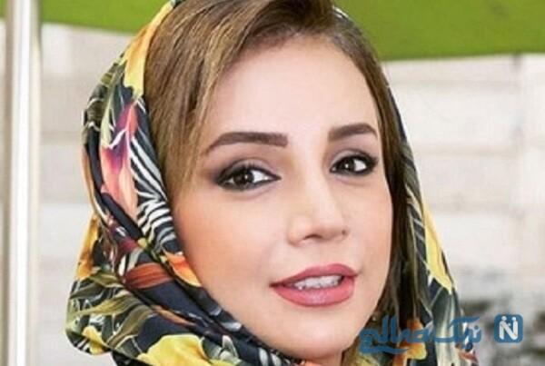 چادر پوشیدن شبنم قلی خانی بازیگر معروف به سبکی متفاوت