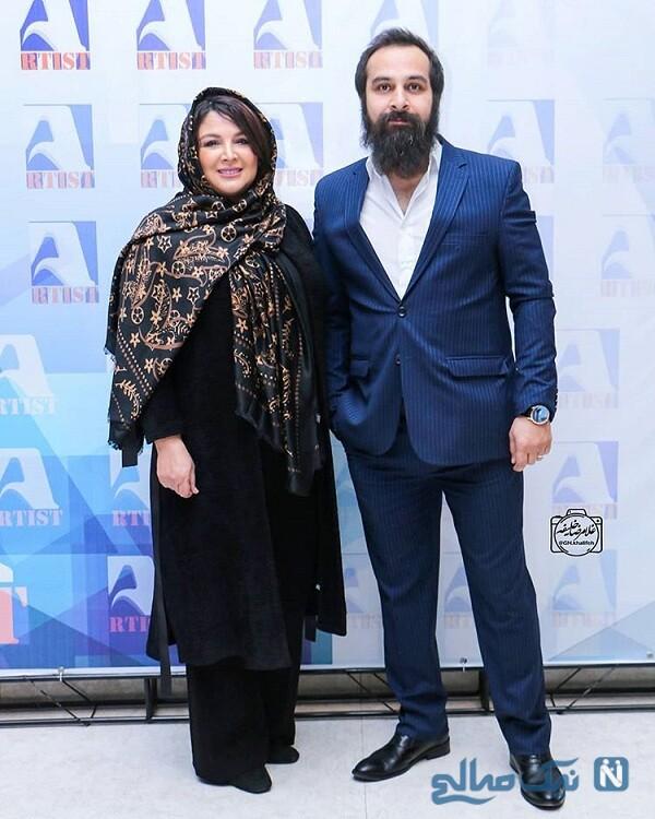 شهره سلطانی بازیگر و همسرش