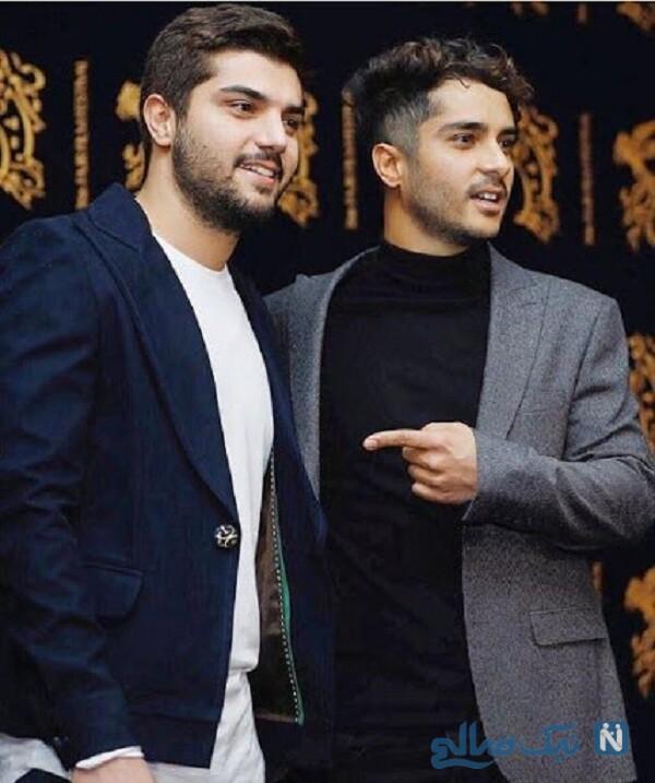سینا مهراد و برادرش