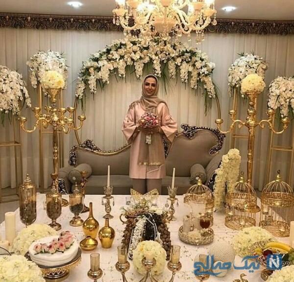 مراسم عقد و ازدواج سوگل طهماسبی