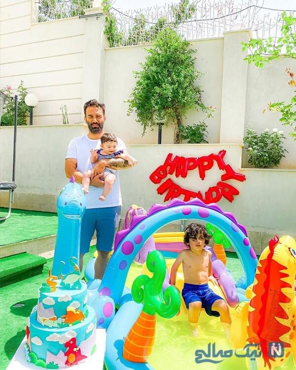 تولد پسر سرمربی فوتبال