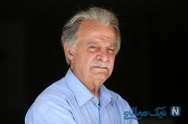 خداحافظی تلخ پسر مرحوم سیروس گرجستانی با پدر