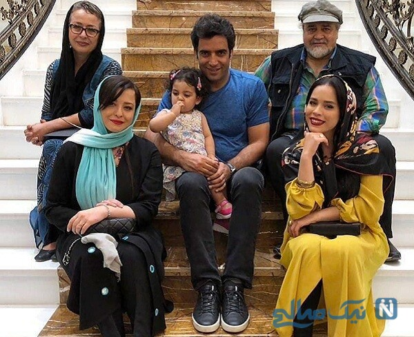 خانواده مهراوه شریفی نیا و منوچهر هادی
