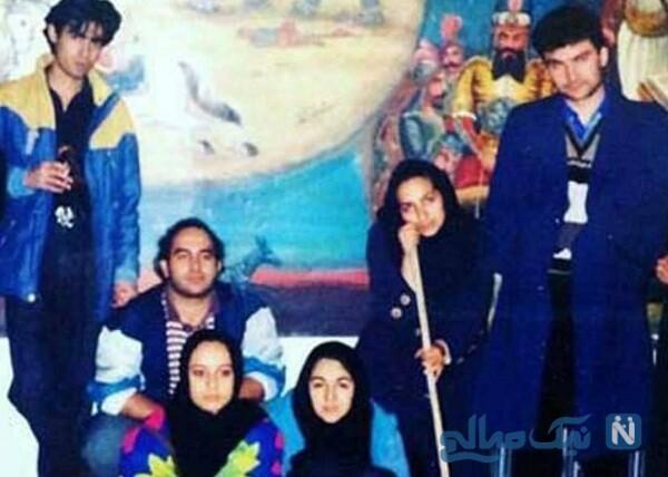 شهاب حسینی در دوران دانشجویی