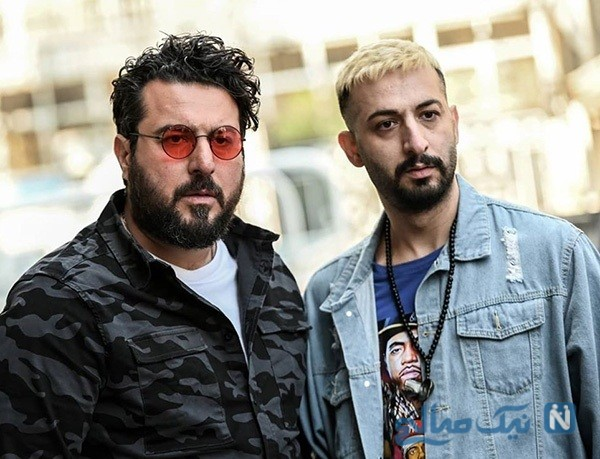 محسن کیایی و بازیگران سریال هم گناه
