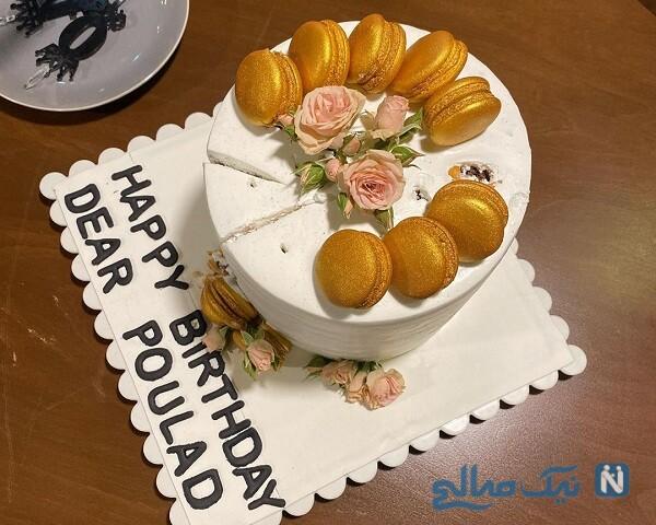 کیک تولد پولاد کیمیایی
