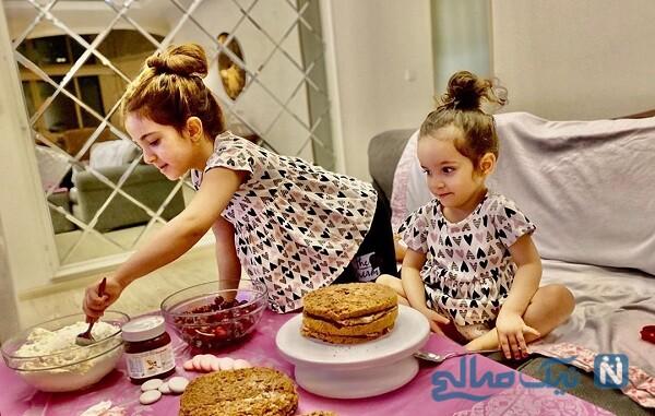 ست خواهرانه دختران خواننده معروف