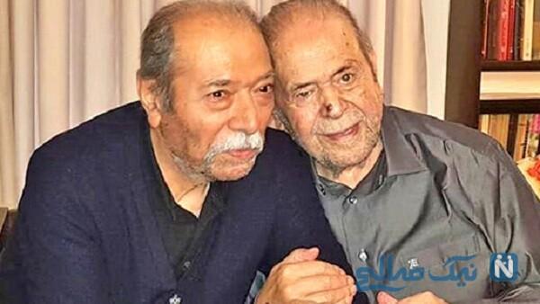 محمدعلی کشاورز و علی نصیریان