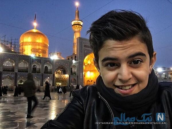 مجری جوان در مشهد مقدس