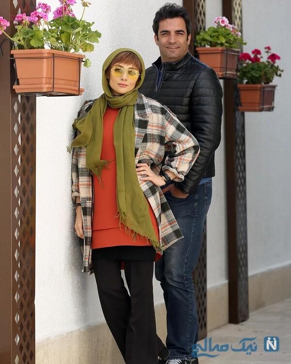 تصویری از یکتا ناصر و لاغری
