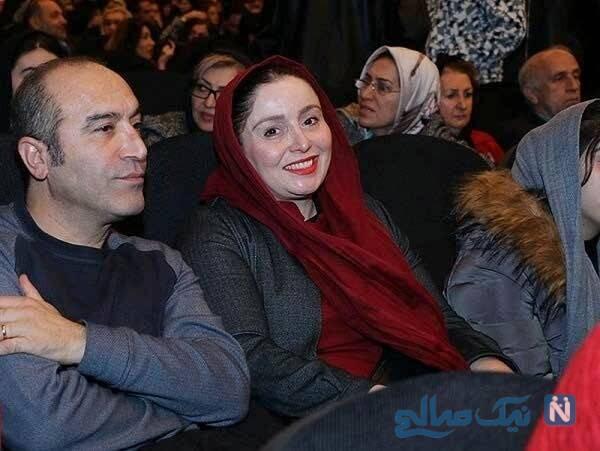 ایرج سنجری و همسرش