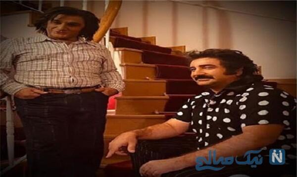 مهران احمدی و مهدی هاشمی بازیگر