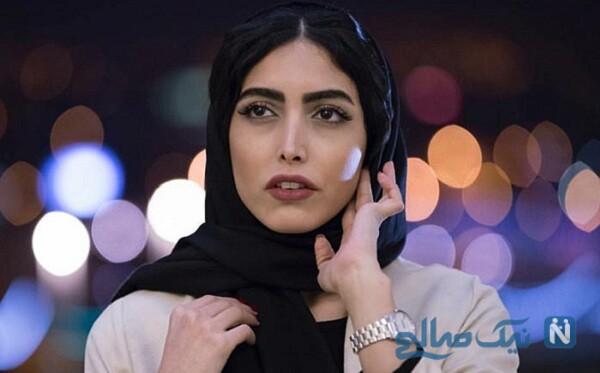 بغض و گریه ساناز طاری بازیگر بعد از کشف حجابش