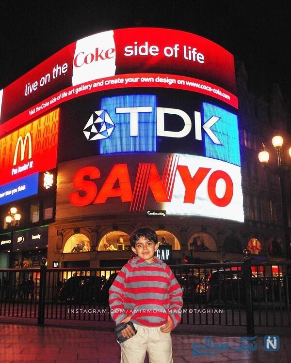 مجری برنامه کودک در لندن